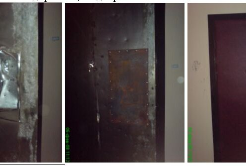 Ремонт входной двери в