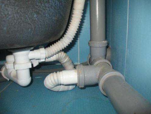 Услуги по замене канализации